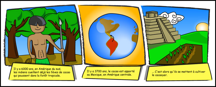 Bevorzugt Chocomiam.fr : l'histoire du chocolat ! YC04